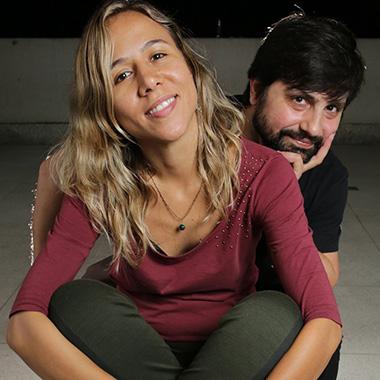 Sandro Vales e Mariane Guerra