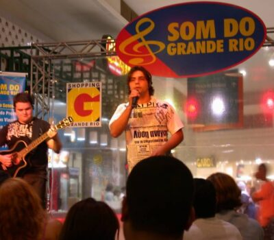 Sandro Vales e Marcelo Faria no Grande Rio