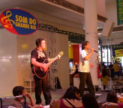 Sandro Vales e Marcelo Faria no Grande Rio lateral
