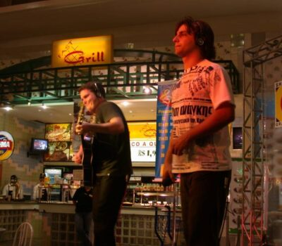 Sandro Vales e Marcelo Faria no Grande Rio frente