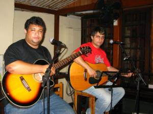 Sandro e Marcio No Mangue primeiro show