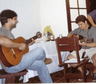 Sandro e Marcelo Saquarema
